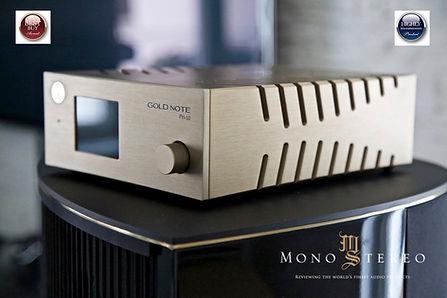 Тест и нарады фонокорректора Gold Note PH-10 в журнале Mono & Stereo