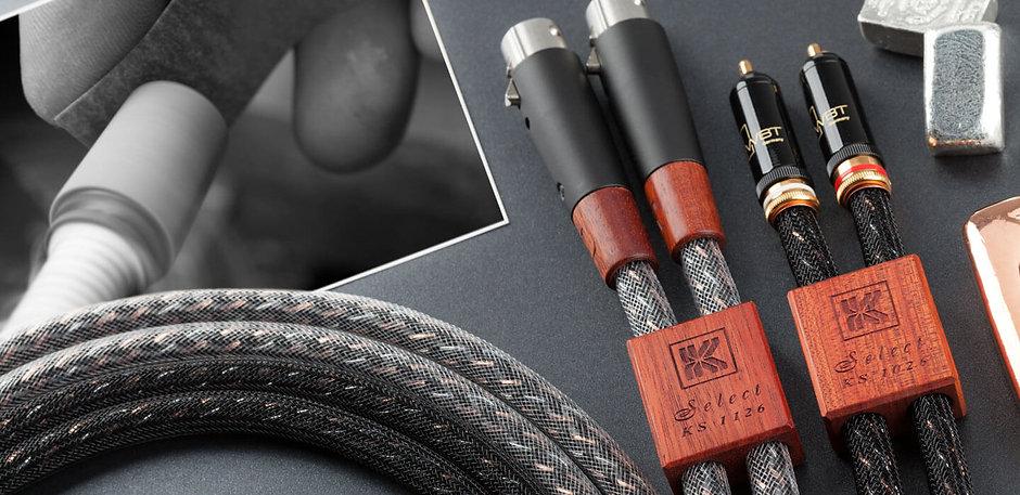 Межблочный кабель Kimber Kable KS 1026 KS 1126 - проводники из серебра и меди