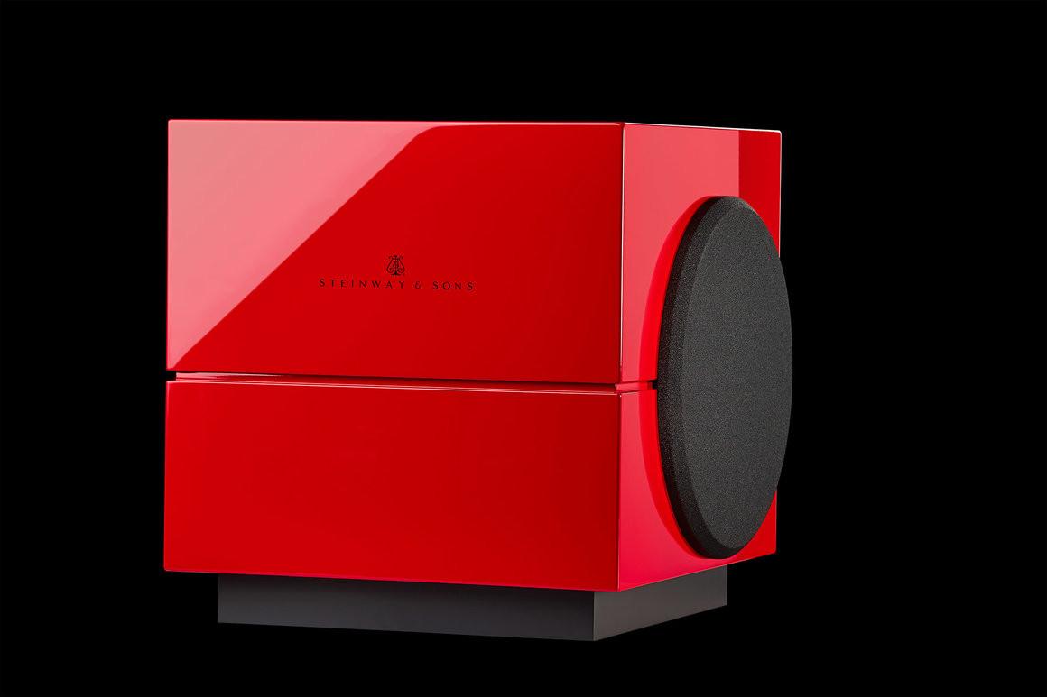 Steinway Lyngdorf S-210 bw красный лак