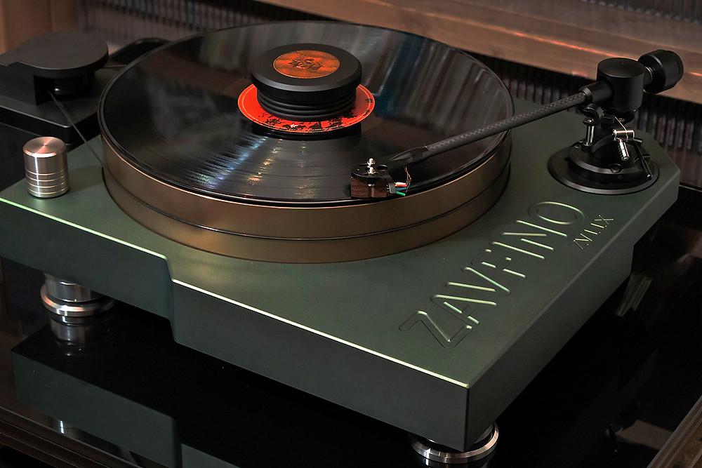 Проигрыватель виниловых пластинок, виниловый проигрыватель Zavfino ZV11-X. Комплект с тонармом.