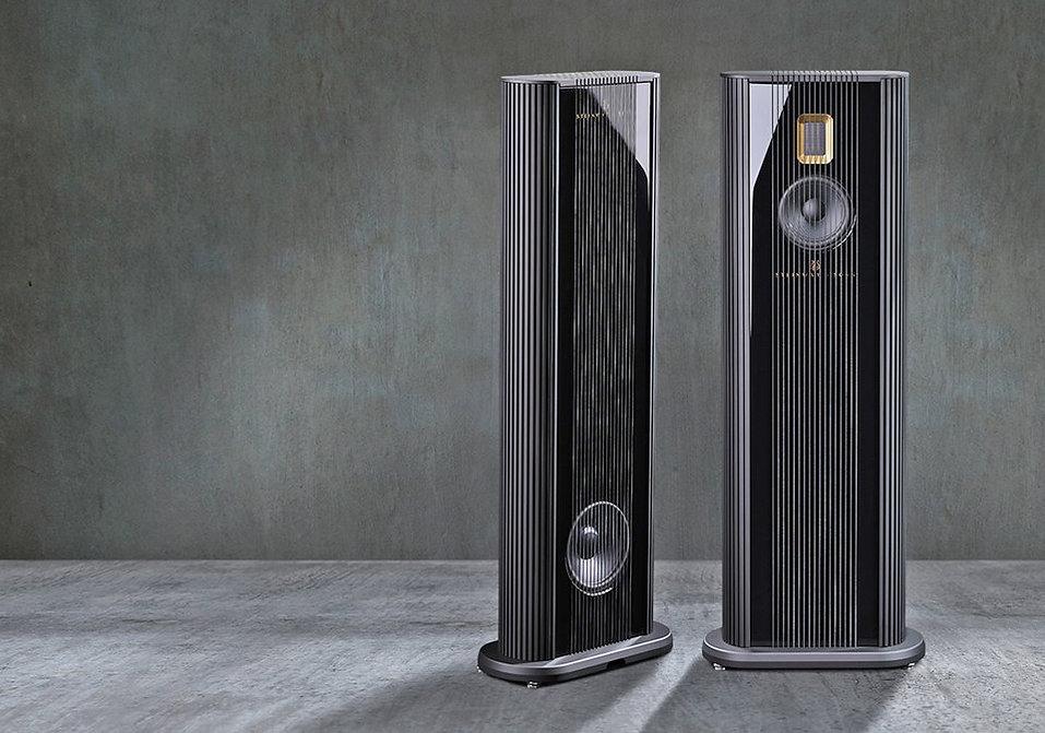 Steinway Lyngdorf Model O компактные наполные акустические системы с полноценным басом и высоким качеством звука. Отделка: лак любого цвета и золото.