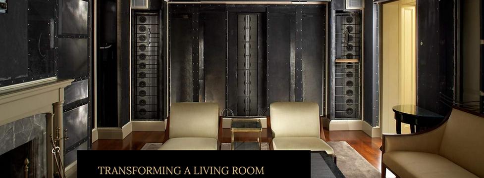 Steinway Lyngdorf Model LS - лучший домашний кинотеатр в гостинной в мире, невидимая акустика для домашнего кинотеатра в гостиной
