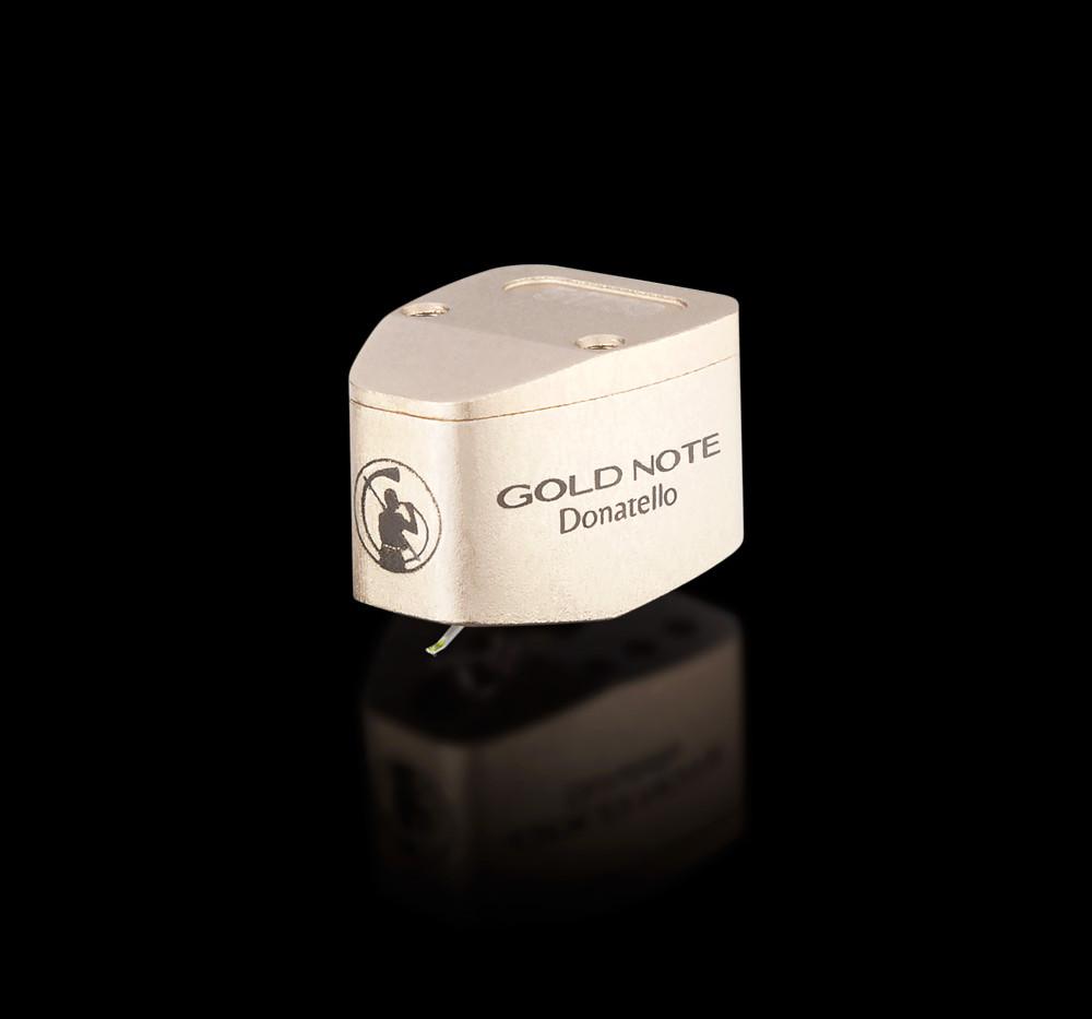 МС головка звукоснимателя Gold Note Donatello Gold со средней податливостью и низкой массой