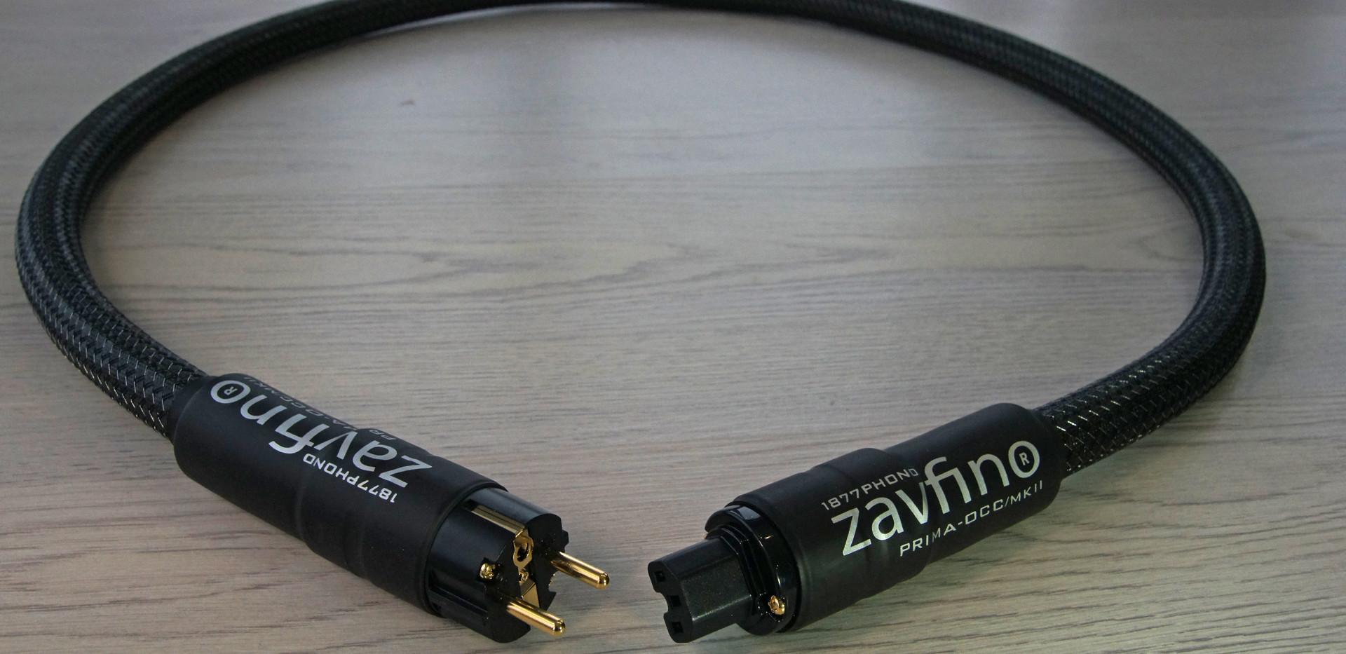 Zavfino Prima OOC mk2 - силовой кабель