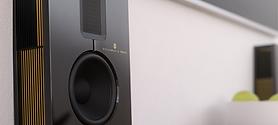 маленькие настенные High-End акустические системы для домашнего кинотеатра и стерео Steinway Lyngdorf S-15