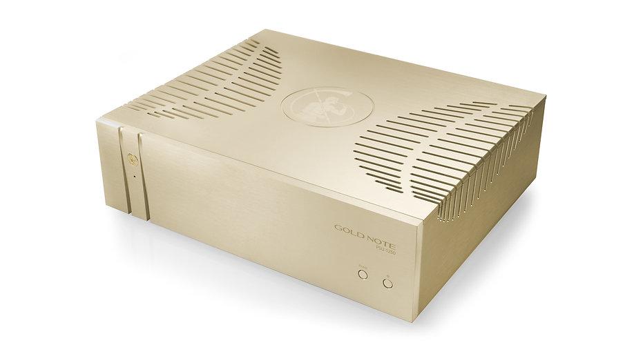 Gold Note PSU-1250 - блок питания для фонокорреткора Gold Note PH-1000. Увеличивает разрешение и повышает динамику звучания виниловых пластинок.