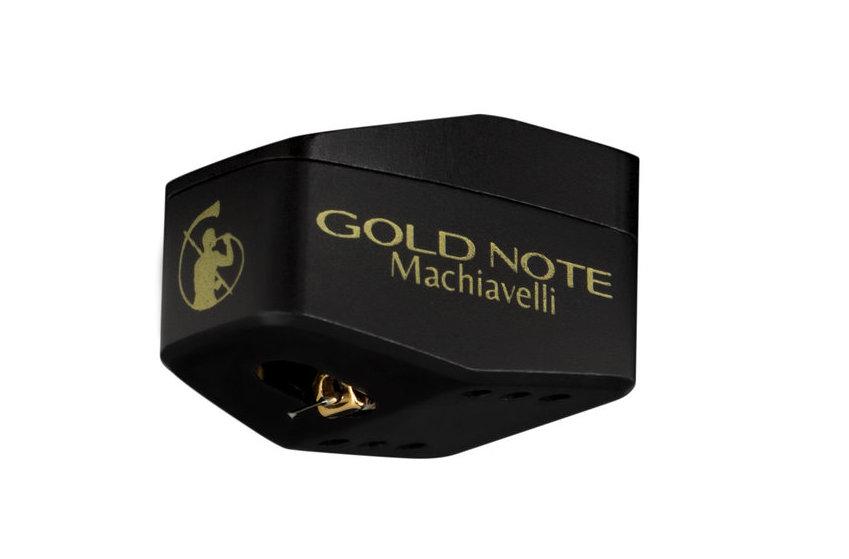 Gold Note Machiavelli Gold - MC головка звукоснимателя не нуждающаяся в повышающем трансформаторе