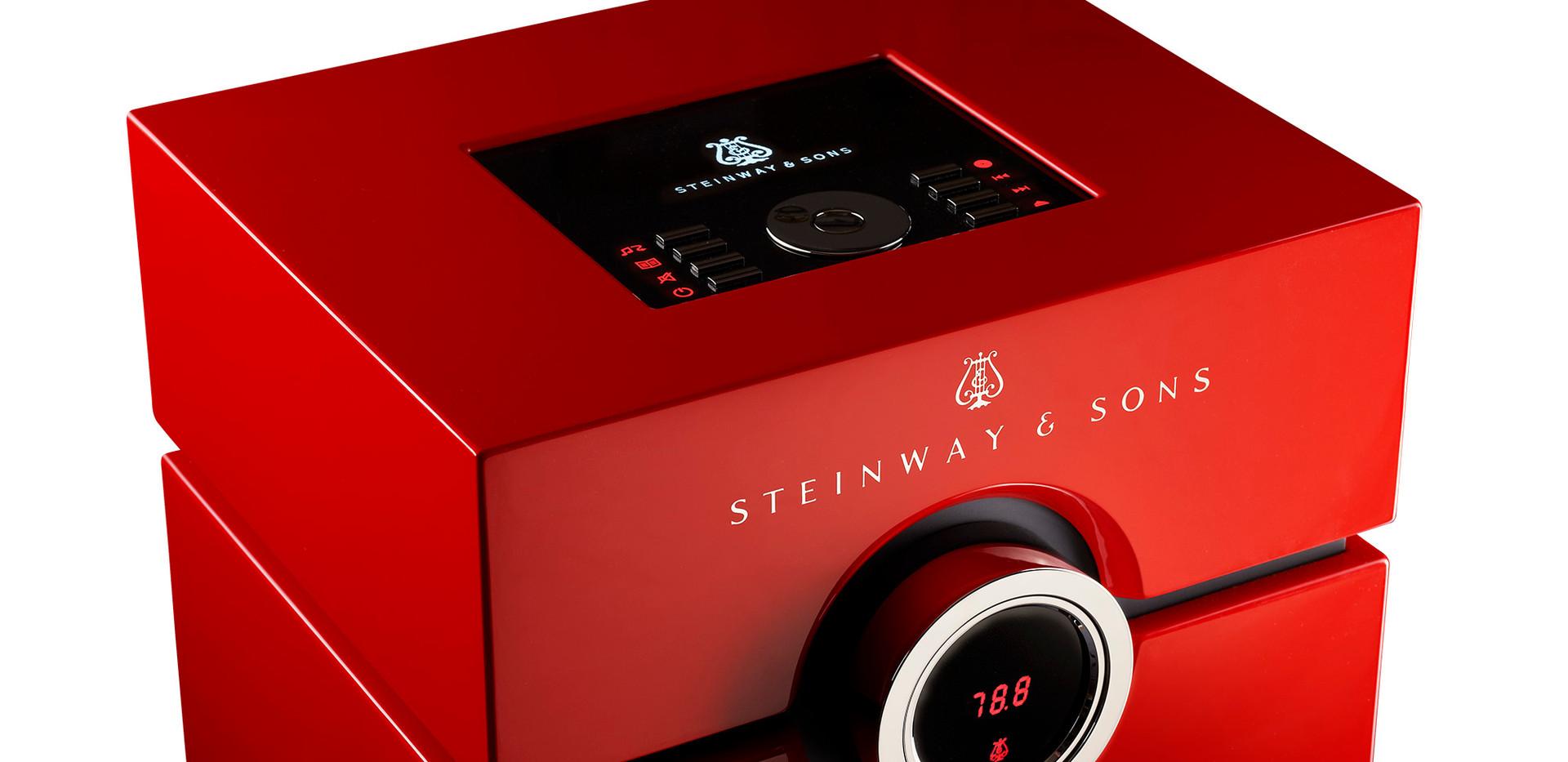 Steinway Lyngdorf Head Unit Red
