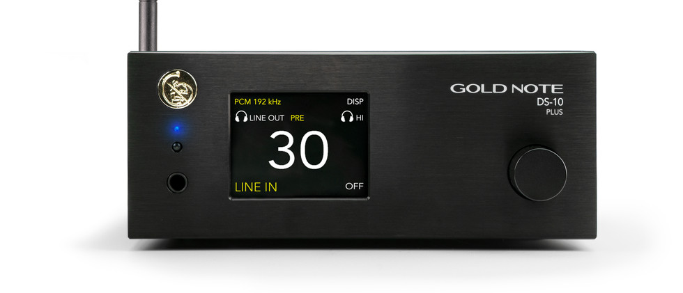Gold Note DS-10-PLUS black