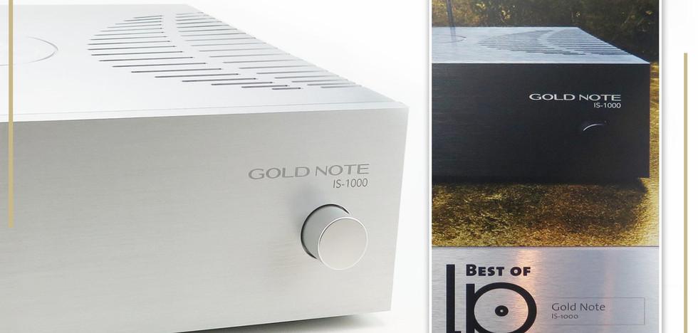 Gold Note IS-1000 усилитель года