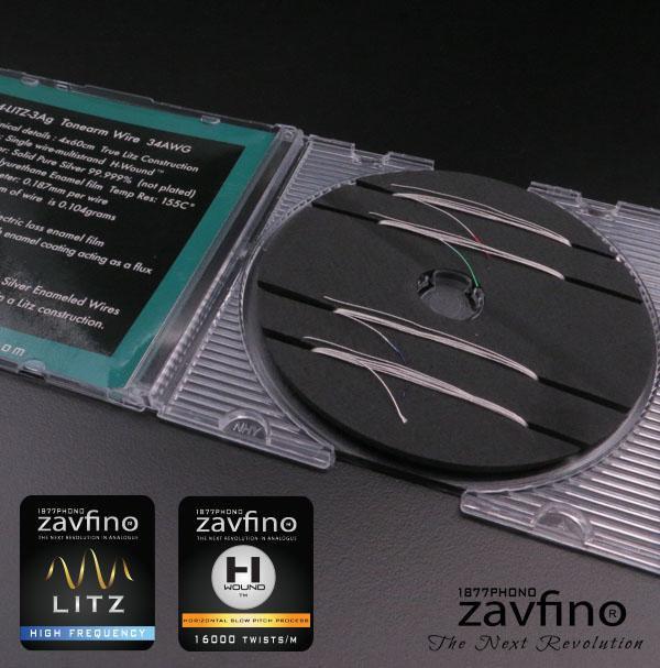 Zavfino 4Litz-3Ag Tonearm Rewire Kit - замена проводки тонарма на более качественные серебряные проводники.