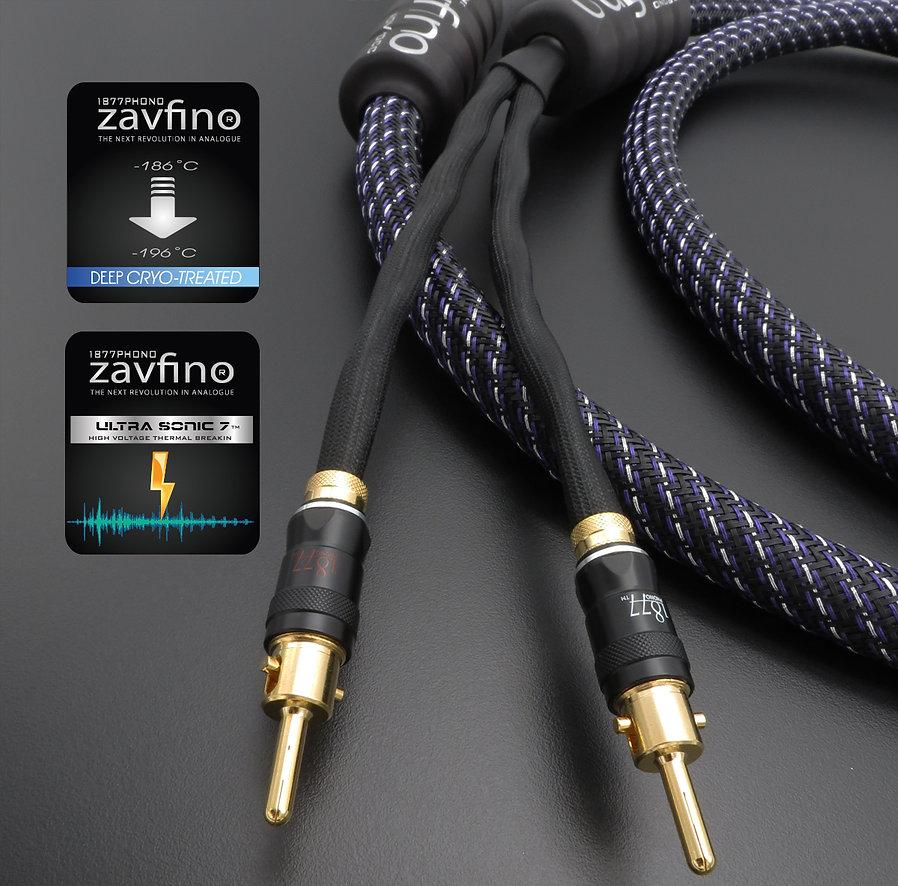 High-End акустический кабель Zavfino Nova - монокристаллическая медь.