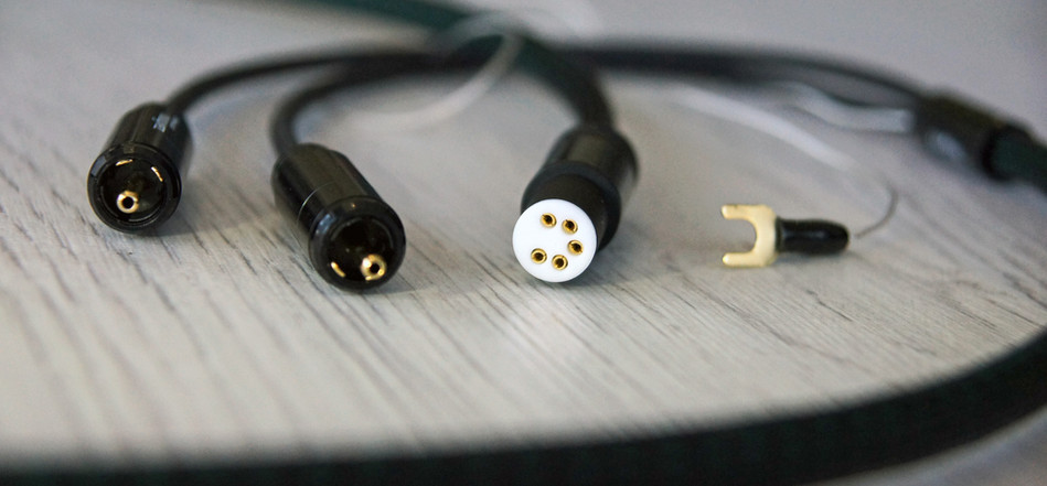 серебряный кабель для тонарма - фонокабель - Zavfino Highlands mk2