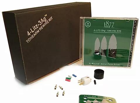 4Litz-3Ag Tonearm Rewire Kit