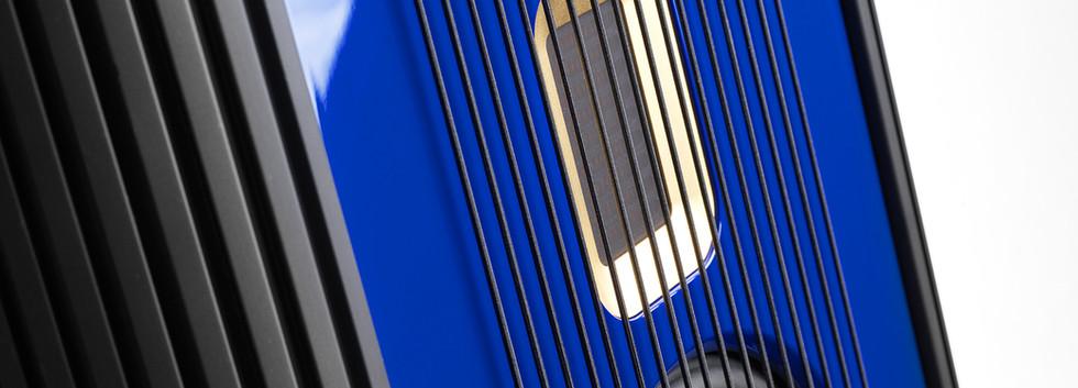 Steinway Lyngdorf Model O - лак ультра-синий морской.