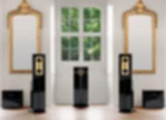 Steinwey Lyngdorf Model C акустические системы дя стерео и домашнего кинотеатра