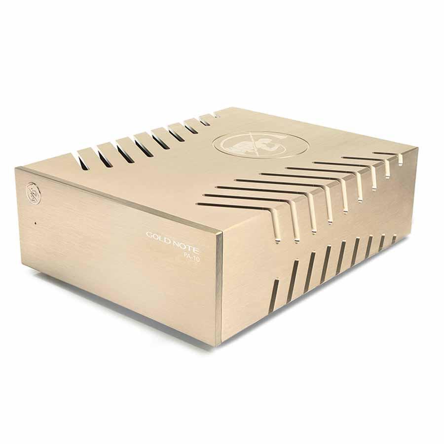 Тест компактного усилителя мощности Gold Note PA-10.