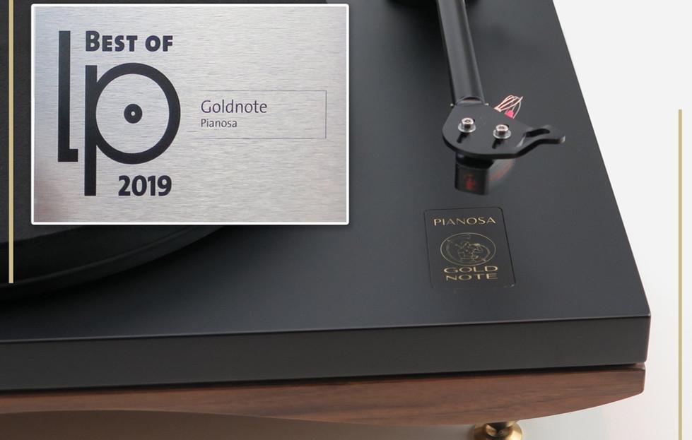 Pianosa - лучший проигрыватель пластинок 2019 года.