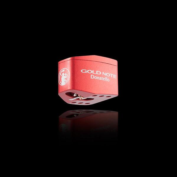недорогая МС головка звукоснимателя с широким частотным диапазоном и высоким выходным уровнем Gold Note Donatello Red