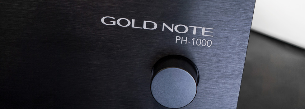 Gold Note PH-1000 black