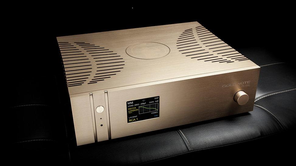 Gold Note PH-1000. Фонокорректор с возможностью регулировки сопротивления и емкости.