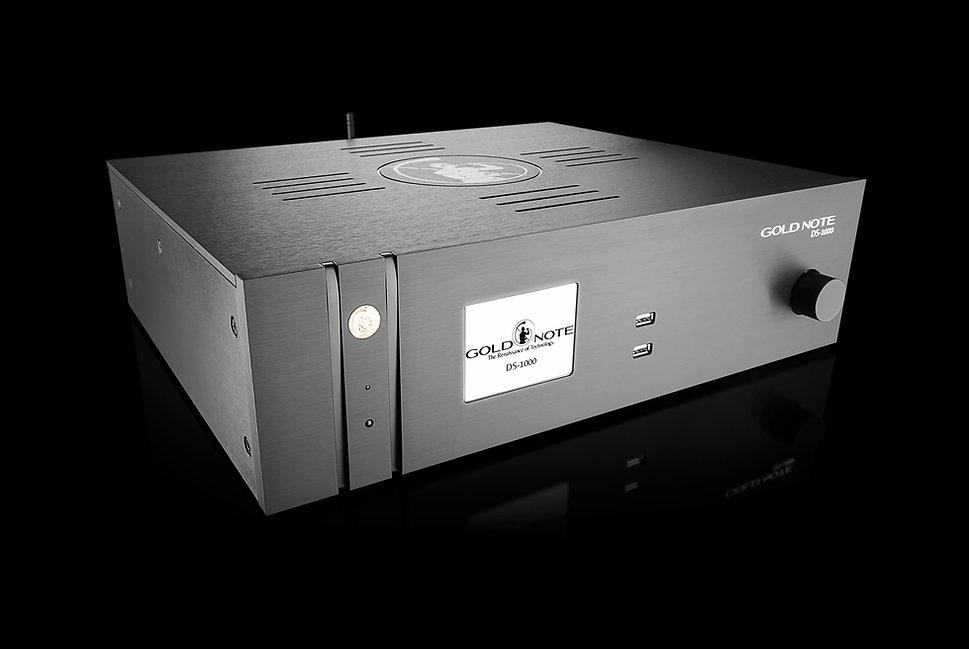 High-End стример для HD музыки, работа с DSD файлами, цвета черный, серебристый, золотой, красный.