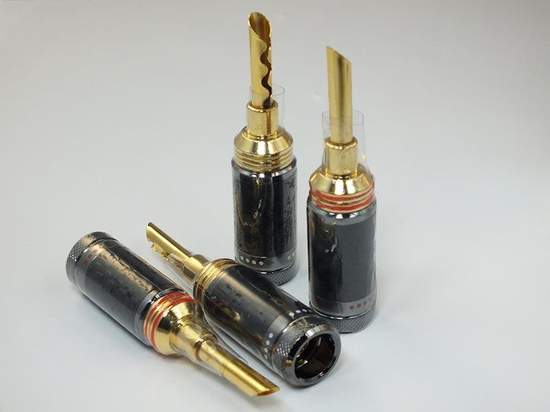 Zavfino 1877phono CF-BFA - акустический разъем банан BFA, корпус карбон.