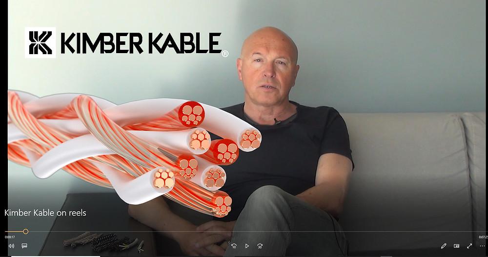 акустические кабели на катушках Kimber Kable