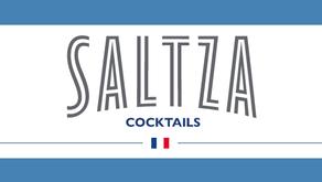 SALTZA cocktail : gentiane menthe