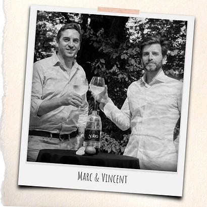 SALTZA : Marc & Vincent co-fondateurs