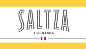 SALTZA cocktail : rhum tonic