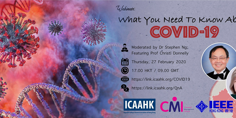 Webinar: What You Need To Know About COVID-19