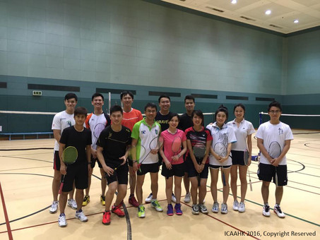 Badminton Event on 20 August 2016