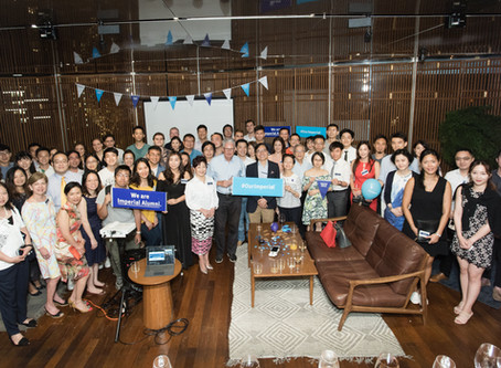 A Full House of Alumni and Friends at Tai Kwun to celebrate the Imperial Global Alumni Weekend 2019