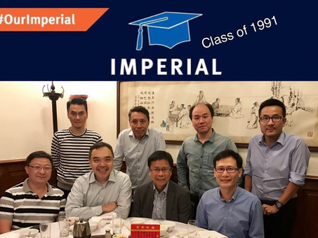 Imperial alumni celebrate 25th anniversary of graduation