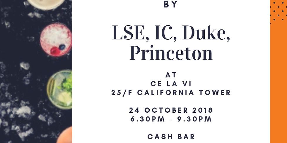 Joint Happy Hour - IC, LSE, Duke, Princeton