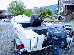 Brukt pioner 14 aktiv Yamaha 25hk