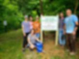 Clem Frank Signs Installation_ 6-27-2020