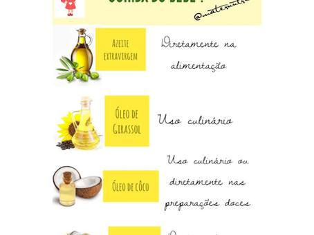 Óleos e Gorduras na Alimentação