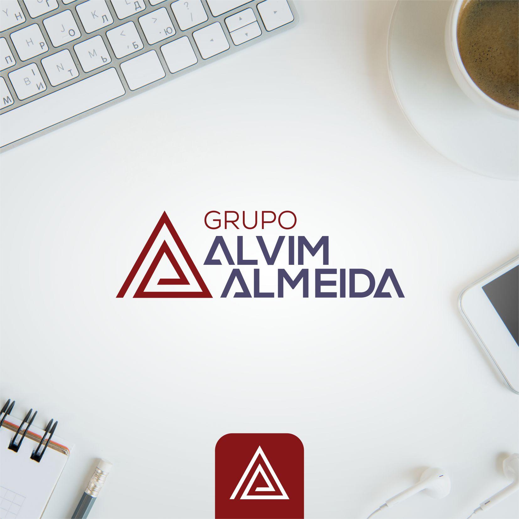 Logo Grupo Alvim Almeida