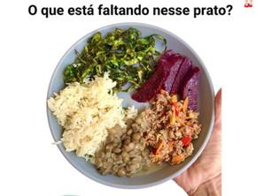 O que está faltando nesse prato?