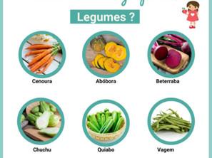 Como variar o grupo dos legumes?