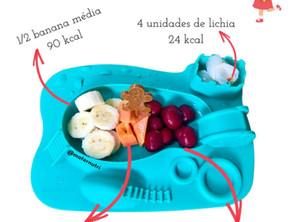 Só Frutas alimenta?