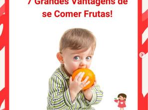 Sete Grande Vantagens de se Comer Frutas