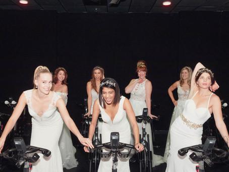 Brides on Bikes!