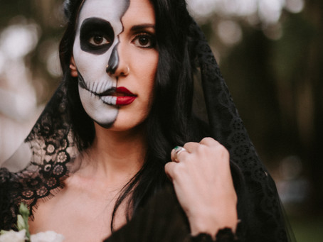 Halloween Bride!