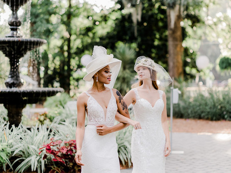 A Veil or a Hat?  How About Both!