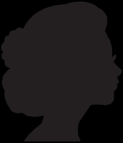 Female Head Profile Silhouette 2-289070.