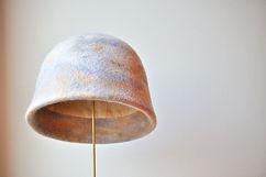 Coastal landscape 海岸の景色 シャポーチホレーヌ鎌倉のフェルト帽子 クロッシュ レディース