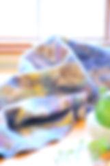 やわらかなフェルトのロングショール シャポーチホレーヌ鎌倉ハンドフェルトの帽子